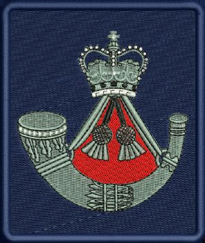 Light Infantry Embroidered Badge